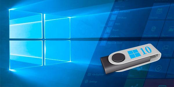 Запуск Windows 10 с флешки без жесткого диска